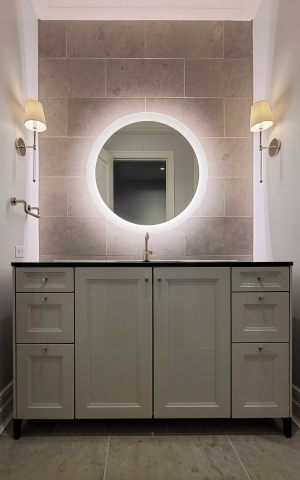 Sophie lighted mirror