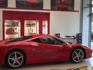 Bespoke Italian audio system for Ferrari Woodlands