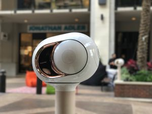 West Ave outdoor Devialet speakers
