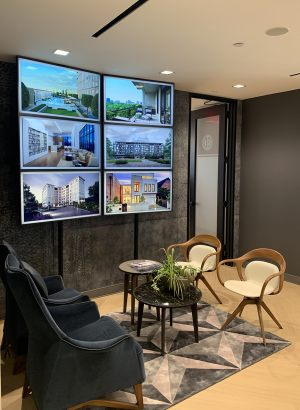 Douglas Elliman video wall